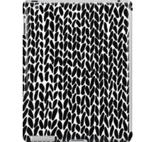 Hand Knitted Black Small iPad Case/Skin
