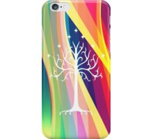 Rainbow Gondor Tree LOTR iPhone Case/Skin