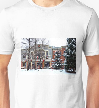 Christmas In Breckenridge Unisex T-Shirt