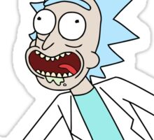 rick and morty, rick, morty, tv, comedy, cartoon, rick sanchez, riggity, wuba, wrecked, free, funny, show. Sticker
