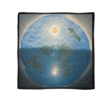 Flat Earth Art  Scarf