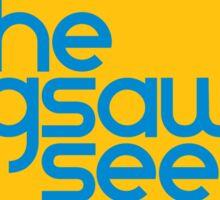 "The Jigsaw Seen ""Sunburst"" graphic Sticker"