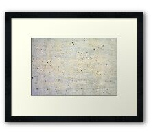 WALL CONCRETE TEXTURE PHOTOGRAPHY Framed Print