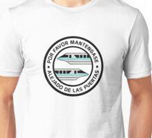 MonorailPorFavorTeal Unisex T-Shirt