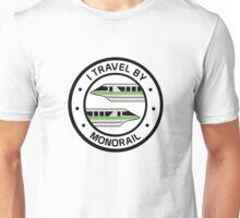 MonorailCircleTravelGreen Unisex T-Shirt