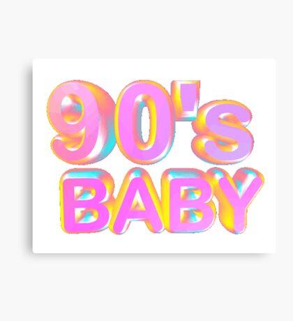 90s baby Canvas Print