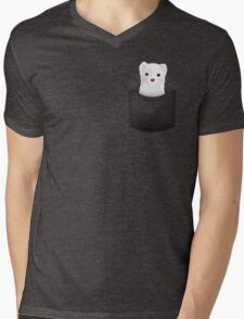 pocket ferret Mens V-Neck T-Shirt
