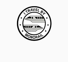 MonorailCircleTravelSilver Unisex T-Shirt
