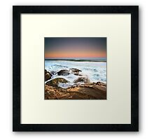 Walkers Beach  Framed Print
