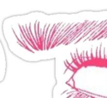 tumblr eyes Sticker