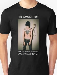 Downners Hang Man Branded Tee Unisex T-Shirt