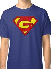 Superman G Letter Classic T-Shirt