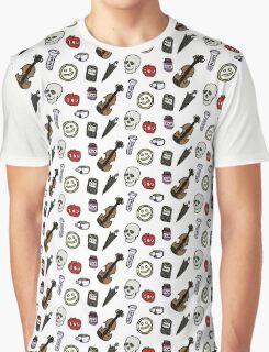 Sherlock Symbols Graphic T-Shirt