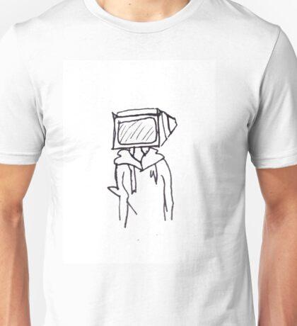 tv head drawing Unisex T-Shirt