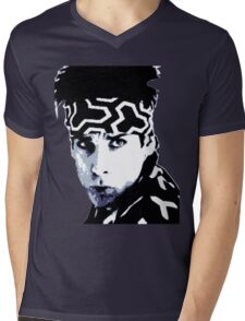 Awesome Zoolander - Blue Steel Magnum - Street art stencil - Popart Mens V-Neck T-Shirt