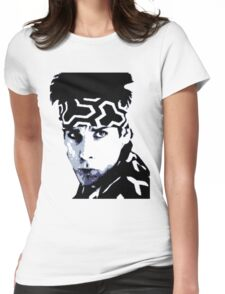 Awesome Zoolander - Blue Steel Magnum - Street art stencil - Popart Womens Fitted T-Shirt