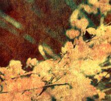 Flower Canvas Sticker