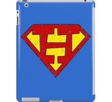 Superman H Letter iPad Case/Skin