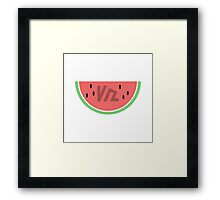 Summer Watermelon Framed Print