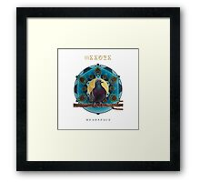 Issues Head Space Framed Print