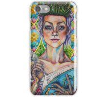 Asparagus Queen (Model: Emery Allen) iPhone Case/Skin
