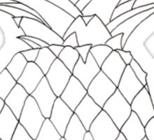 cute pineapple  Sticker