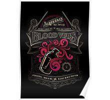 Yharnam's Blood Vials Poster