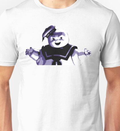 STAY PUFT MARSHMALLOW MAN - Ghostbusters - streetart stencil - Popart Unisex T-Shirt