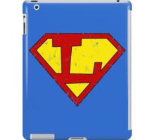 Superman L Letter iPad Case/Skin