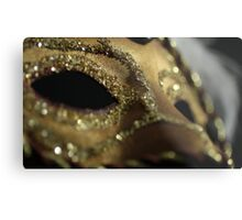 The Dead Eyes of a Mask Metal Print
