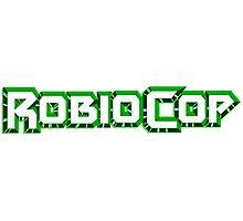 Robiocop - The Green Robocop Photographic Print
