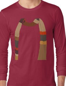 Doctor Who Scarf Long Sleeve T-Shirt