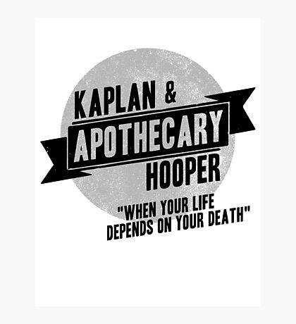 Kaplan & Hooper Apothecary Photographic Print