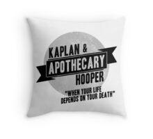 Kaplan & Hooper Apothecary Throw Pillow
