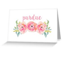 Purdue University Greeting Card