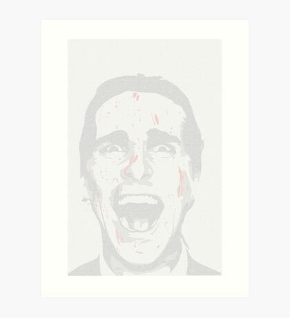 American Psycho (Full Text) Art Print