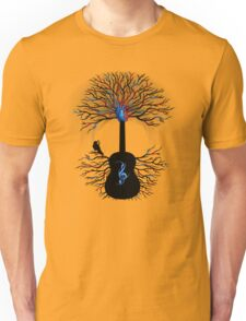 Rhythms of the Heart ~ Surreal Guitar Unisex T-Shirt