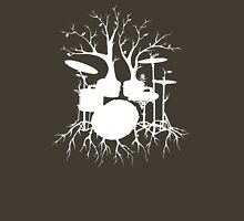 """Live the Beat to the Tempo of Creation"" ~ drum tree art , version1 Unisex T-Shirt"