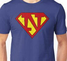 Superman N Letter Unisex T-Shirt