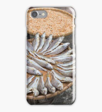 Dried fish iPhone Case/Skin