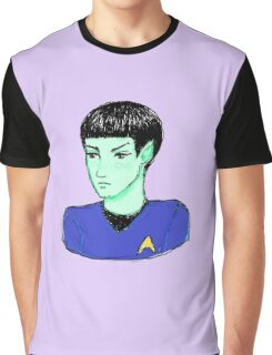 Cute Science Officer Graphic T-Shirt
