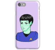 Cute Science Officer iPhone Case/Skin