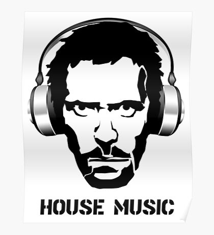 Dr House Music Poster