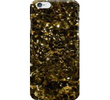 Liquid Gold by Gaye G iPhone Case/Skin