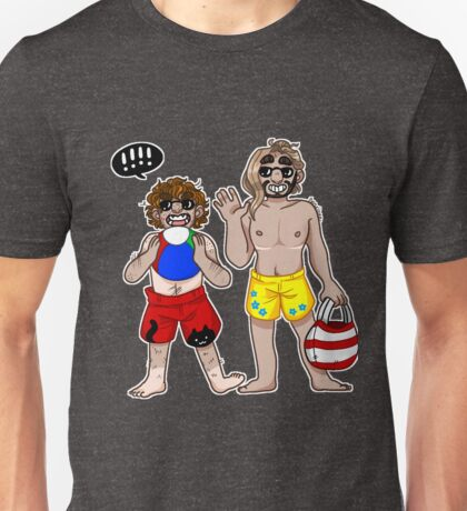 Beach Goers - Small Dude collection Unisex T-Shirt