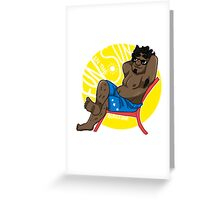 Relax - Small Dude Collection Greeting Card