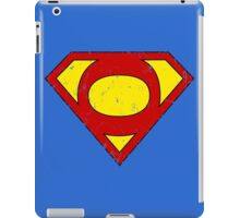 Superman O Letter iPad Case/Skin