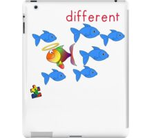 It's Okay To Be Different iPad Case/Skin