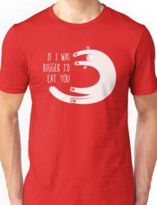 If I Was Bigger I'd Eat You (Amorphia Apparel) Unisex T-Shirt