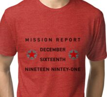 Mission Report Tri-blend T-Shirt